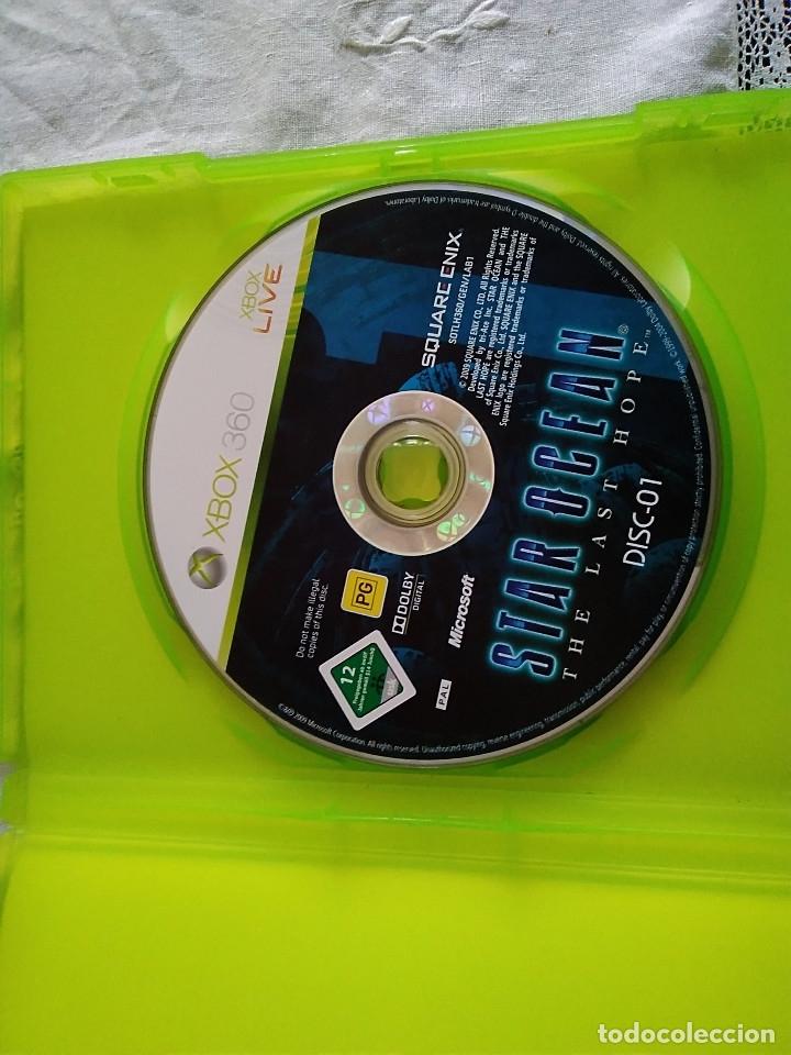 Videojuegos y Consolas: 25-XBOX 360 STAR OCEAN, the last hope, sin manual - Foto 2 - 176220435