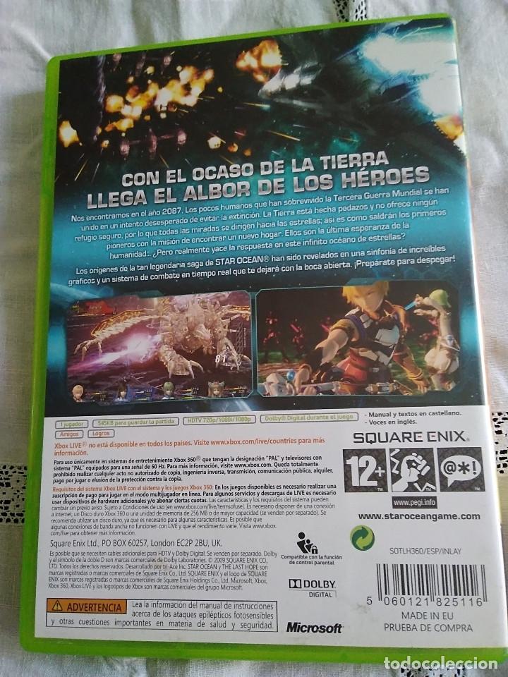 Videojuegos y Consolas: 25-XBOX 360 STAR OCEAN, the last hope, sin manual - Foto 3 - 176220435