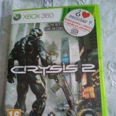 Videojuegos y Consolas: 24-XBOX 360 CRYSIS 2, CON MANUAL Y CAJA. Lote 176220493