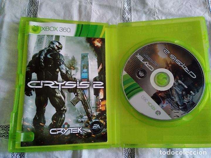 Videojuegos y Consolas: 24-XBOX 360 CRYSIS 2, con manual y caja - Foto 2 - 176220493