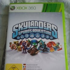 Videojuegos y Consolas: 23-XBOX 360 SKYLANDERS, SPYROS ADVENTURE, CON MANUAL Y CAJA. Lote 176302578