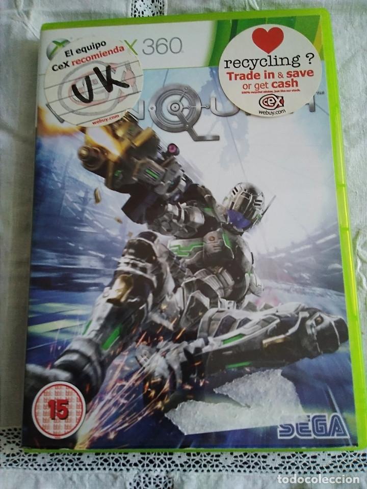 22-XBOX 360 VAN QUISH, CON MANUAL Y CAJA (Juguetes - Videojuegos y Consolas - Microsoft - Xbox 360)