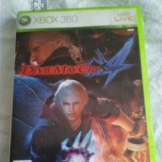 Videojuegos y Consolas: 21-XBOX 360 DEVIL MAY CRY 4, SIN MANUAL, SI CAJA.. Lote 176302954