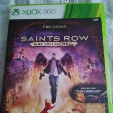 Videojuegos y Consolas: 19-XBOX 360 SAINTS ROW GAT OUT OF HELL, CON MANUAL Y CAJA. Lote 176303170