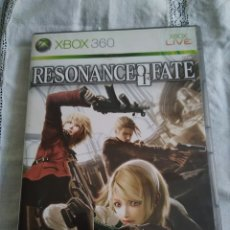 Videojuegos y Consolas: 18-XBOX 360 RESONANCE OF FATE, CON MANUAL Y CAJA. Lote 176303248