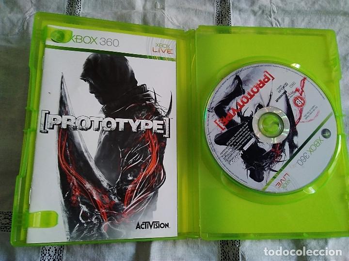 Videojuegos y Consolas: 17-XBOX 360 PROTOTYPE, con manual y caja - Foto 2 - 176303380