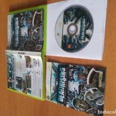 Videojuegos y Consolas: DEAD RISING XBOX360 XBOX COMPLETO PAL-ESPAÑA. Lote 177729370