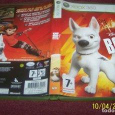 Videojuegos y Consolas: DISNEY BOLT PAL ESP XBOX 360. Lote 178301501
