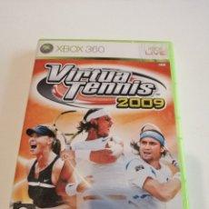 Videojuegos y Consolas: G-25ANIM JUEGO XBOX 360 VIRTUA TENNIS 2009. Lote 178368432