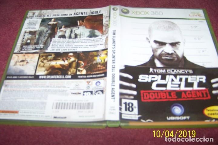 SPLINTER CELL DOUBLE AGENT PAL ESP XBOX 360 (Juguetes - Videojuegos y Consolas - Microsoft - Xbox 360)