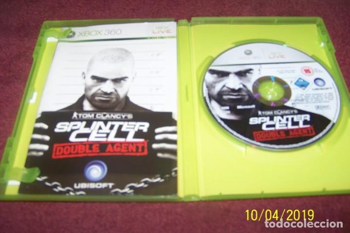 Videojuegos y Consolas: SPLINTER CELL DOUBLE AGENT PAL ESP XBOX 360 - Foto 2 - 178389201