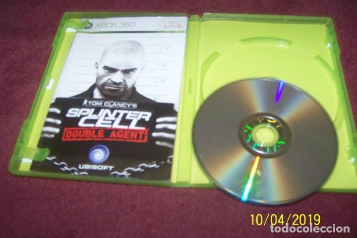 Videojuegos y Consolas: SPLINTER CELL DOUBLE AGENT PAL ESP XBOX 360 - Foto 3 - 178389201