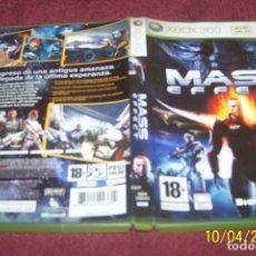 Videojuegos y Consolas: MASS EFFECT PAL ESP XBOX360. Lote 178389385