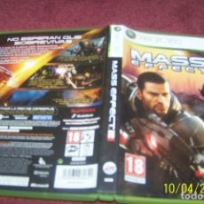 Videojuegos y Consolas: MASS EFFECT 2 XBOX 360 ESPAÑOL COMPLETO. Lote 178389471