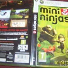 Videojuegos y Consolas: MINI NINJAS PAL ESP XBOX 360. Lote 178394361