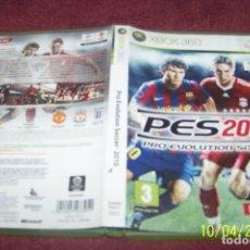 Videojuegos y Consolas: PES 2010 PRO EVOLUTION SOCCER 10 XBOX 360. Lote 178395020