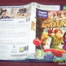 Videojuegos y Consolas: KINECT ADVENTURES XBOX 360. Lote 178395036