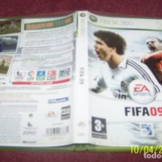 Videojuegos y Consolas: FIFA 09 JUEGO PARA XBOX 360 PAL ESP ESPAÑA. Lote 178395062