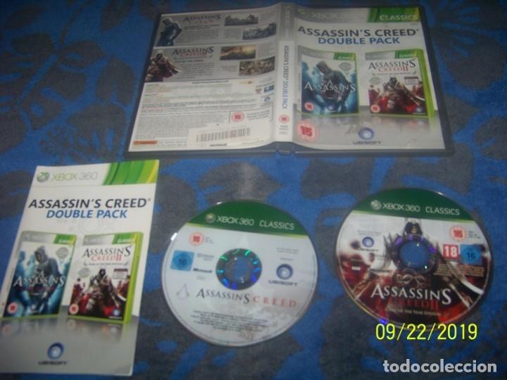 ASSASSIN'S CREED DOBLE PACK XBOX 360 (Juguetes - Videojuegos y Consolas - Microsoft - Xbox 360)