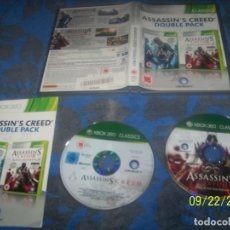 Videojuegos y Consolas: ASSASSIN'S CREED DOBLE PACK XBOX 360. Lote 135530658