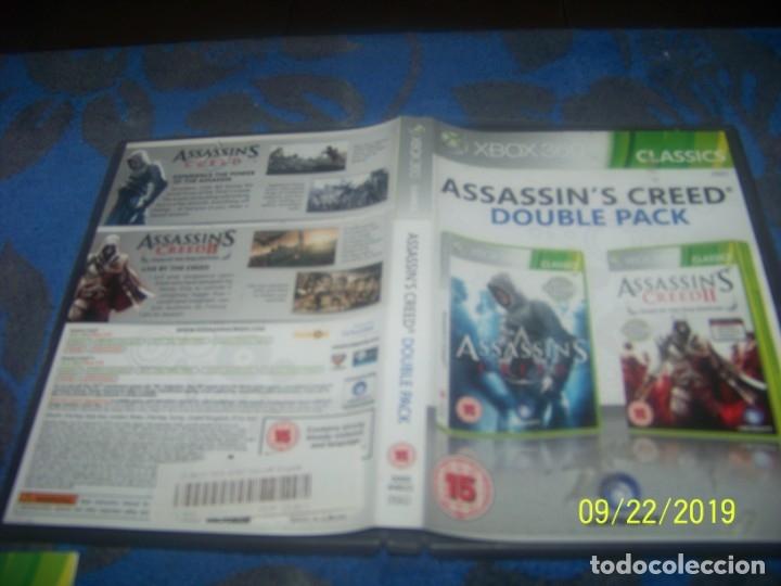 Videojuegos y Consolas: Assassins Creed Doble Pack XBOX 360 - Foto 2 - 135530658