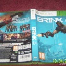 Videojuegos y Consolas: BRINK - XBOX 360 PAL ESP. Lote 178622422