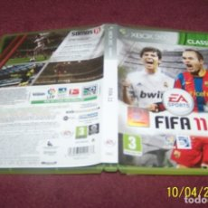 Videojuegos y Consolas: FIFA 11 XBOX 360 PAL ESP. Lote 178622582