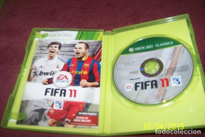 Videojuegos y Consolas: FIFA 11 XBOX 360 PAL ESP - Foto 2 - 178622582