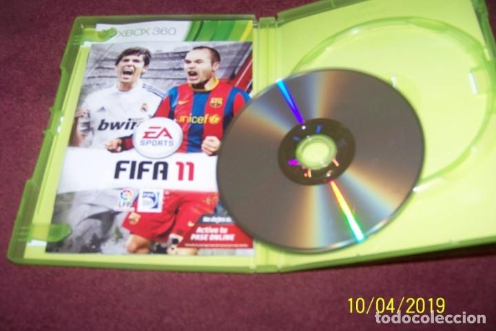Videojuegos y Consolas: FIFA 11 XBOX 360 PAL ESP - Foto 3 - 178622582