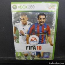 Videojuegos y Consolas: JUEGO PARA XBOX 360 FIFA 10. Lote 179152788