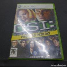 Videojuegos y Consolas: JUEGO PARA XBOX 360 CSI PRUEBAS OCULTAS. Lote 179155092