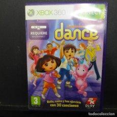 Videojuegos y Consolas: JUEGO PARA XBOX 360 NICKELODEON DANCE. Lote 179159701