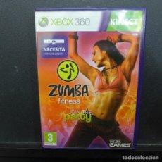 Videojuegos y Consolas: JUEGO PARA XBOX 360 ZUMBA FITNESS. Lote 179159812
