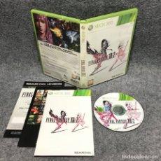 Videojuegos y Consolas: FINAL FANTASY XIII 2 MICROSOFT XBOX 360. Lote 179344673