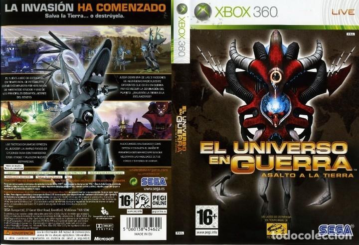 Videojuegos y Consolas: LOTE OFERTA JUEGO XBOX360 - EL UNIVERSO EN GUERRA - ASALTO A LA TIERRA - muy nuevo y con su manual - Foto 2 - 180075097