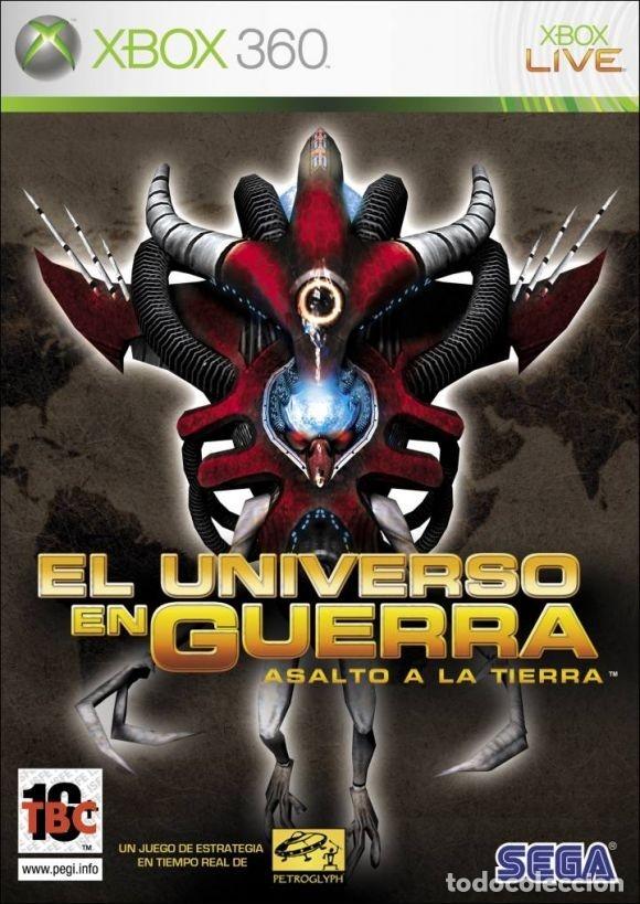 LOTE OFERTA JUEGO XBOX360 - EL UNIVERSO EN GUERRA - ASALTO A LA TIERRA - MUY NUEVO Y CON SU MANUAL (Juguetes - Videojuegos y Consolas - Microsoft - Xbox 360)