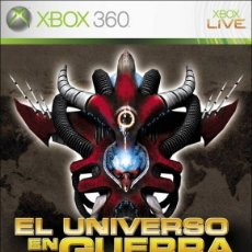 Videojuegos y Consolas: LOTE OFERTA JUEGO XBOX360 - EL UNIVERSO EN GUERRA - ASALTO A LA TIERRA - MUY NUEVO Y CON SU MANUAL. Lote 180075097