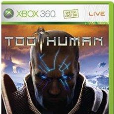 Videojuegos y Consolas: LOTE OFERTA JUEGO XBOX 360 - TOO HUMAN - MUY NUEVO YCON SU MANUAL. Lote 180077685