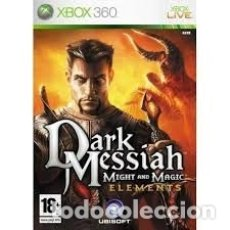 Videojuegos y Consolas: LOTE OFERTA JUEGO XBOX 360 - DARK MESSIAH - MIGHT AND MAGIC - BUENO Y CON SU MANUAL. Lote 180079640