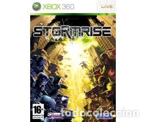 LOTE OFERTA JUEGO XBOX 360 - STORMRISE - MUY NUEVO Y CON SU MANUAL (Juguetes - Videojuegos y Consolas - Microsoft - Xbox 360)