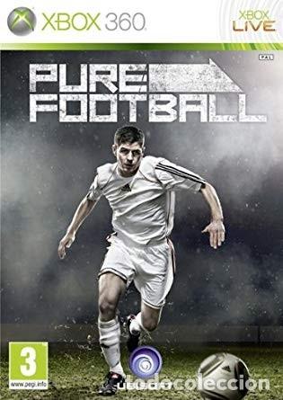 LOTE OFERTA JUEGO XBOX 360 - PURE FOOTBALL - BUENO Y CON SU MANUAL (Juguetes - Videojuegos y Consolas - Microsoft - Xbox 360)
