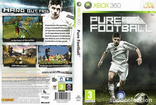 Videojuegos y Consolas: LOTE OFERTA JUEGO XBOX 360 - PURE FOOTBALL - BUENO y con su manual - Foto 6 - 180083521