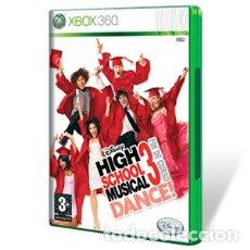 Videojuegos y Consolas: LOTE OFERTA JUEGO XBOX 360 - HIGH SCHOOL MUSICAL 3 DANCE - FIN DE CURSO - MUY NUEVO Y CON SU MANUAL. Lote 180084331