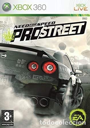LOTE OFERTA JUEGO XBOX 360 - NEED FOR SPEED PRO STREET - Y CON SU MANUAL (Juguetes - Videojuegos y Consolas - Microsoft - Xbox 360)
