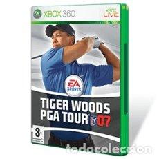 Videojuegos y Consolas: LOTE OFERTA JUEGO XBOX 360 - TIGER WOODS PGA TOUR - Y CON SU MANUAL. Lote 180085857
