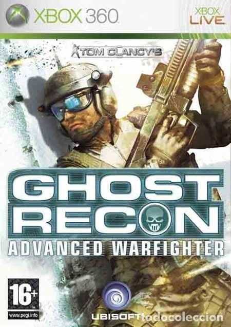 LOTE OFERTA JUEGO XBOX 360 - GHOST RECON - ADVANCED WARFIGHTER - Y CON SU MANUAL (Juguetes - Videojuegos y Consolas - Microsoft - Xbox 360)