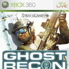 Videojuegos y Consolas: LOTE OFERTA JUEGO XBOX 360 - GHOST RECON - ADVANCED WARFIGHTER - Y CON SU MANUAL. Lote 180087121