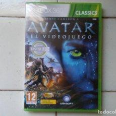 Videojuegos y Consolas: AVATAR JAME'S CAMERON EL VIDEOJUEGO XBOX 360 CLASSICS UBISOFT CASTELLANO BLISTER SIN ABRIR. Lote 181006878