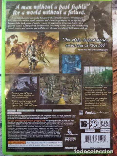 Videojuegos y Consolas: LOST ODYSSEY - Foto 2 - 181392671