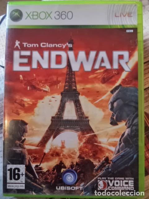 ENDWAR (Juguetes - Videojuegos y Consolas - Microsoft - Xbox 360)